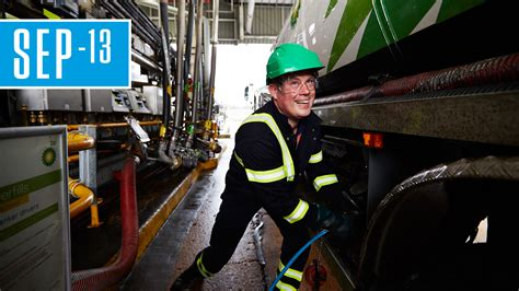 on the road with a fuel tanker driver locations bp
