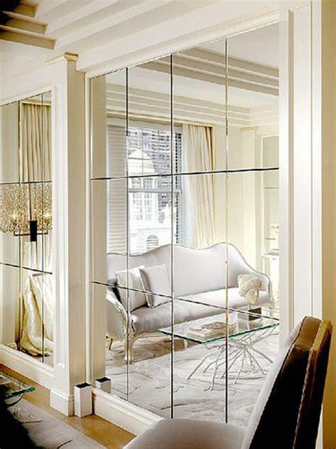Dining Rooms With Wainscoting by Decorando A Parede Com Espelhos Ibratin