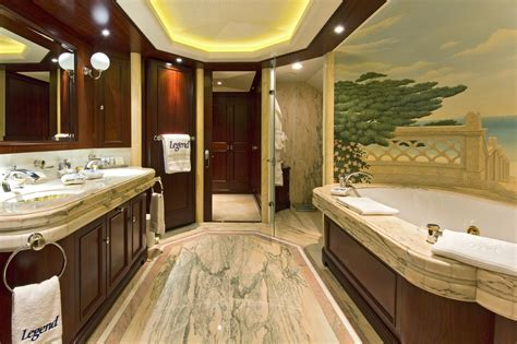 luxury master bathroom legend master bath luxury yacht browser by charterworld superyacht charter