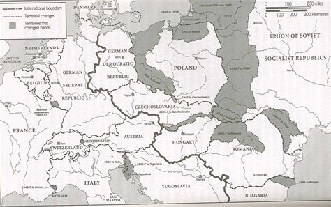 europe map 1945 history 464 europe since 1914 unlv