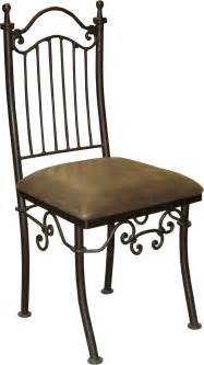 wrought iron chairs chemical elements