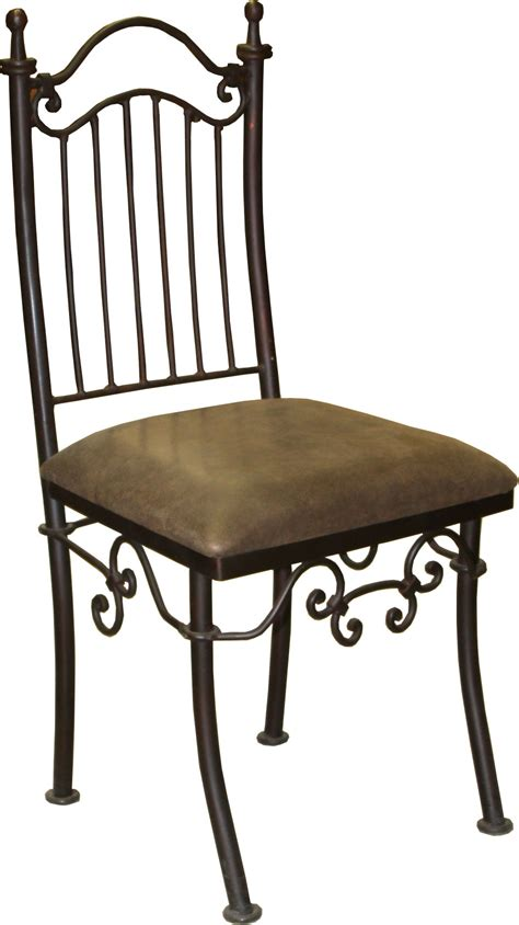 bench chairs wrought iron chair with distressed leather seat heritage collection durango trail