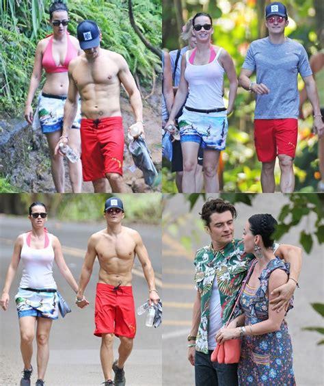 Kaos Katy Perry Roar liburan mesra di hawaii orlando bloom dan katy perry