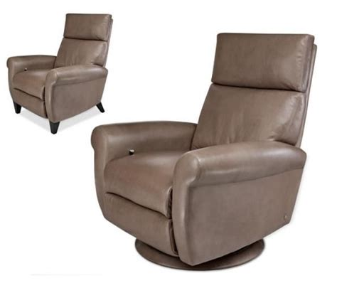 italsofa leather recliner italsofa recliner midnight luxe power recliner midnight
