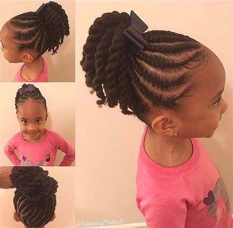 young black american women hair style corn row based perfect for back to school natural hair style braids