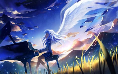 wallpaper anime angel angel beats computer wallpapers desktop backgrounds
