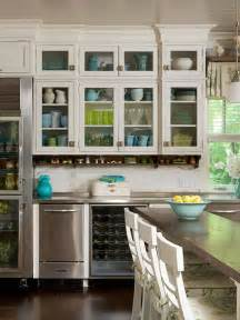 kitchen with glass cabinets rustic silk july 2012