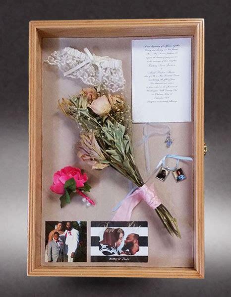 Wedding Bouquet In Shadow Box by Wedding Shadow Box Greg Seitz Woodworking