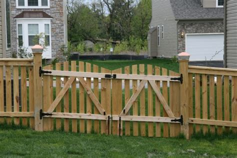 how to build a double swing gate 8 tips to build a wood fence gate frederick fence