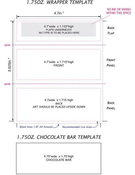 miniature bar wrappers template free bar wrappers template search just for me