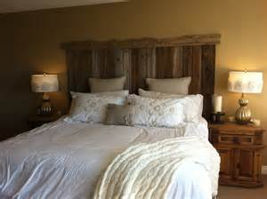 How Is A Headboard by Barn Board Headboard Twobertis