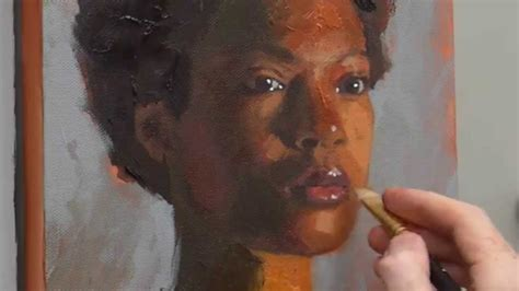 how to paint acrylic portrait course