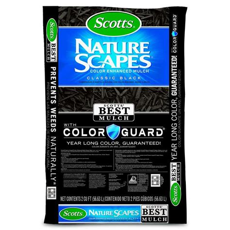 scotts 2 cu ft classic black naturescapes color enhanced