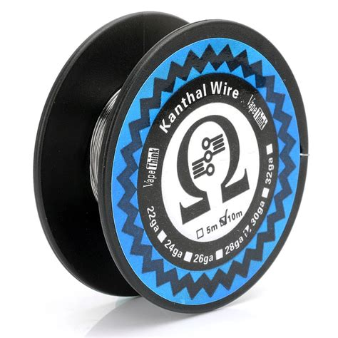 Sale Kanthal Wire 28 Awg Kantal Khantal authentic vapethink kanthal a1 28 awg 0 32mm 10m
