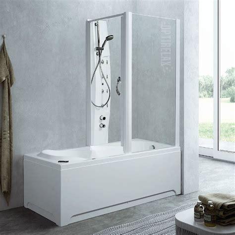Badewannen Glasabtrennung by Badewanne Und Dusche Kombiniert Optirelax