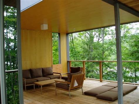 the outdoor room modern prefab by kohn shnier architects and royal homes