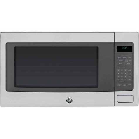 Stainless Steel Countertop Microwave Oven ge appliances peb7226sfss 2 2 cu ft countertop
