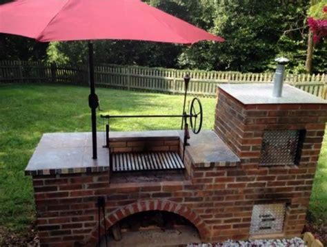 backyard brick smoker the 25 best brick grill ideas on pinterest