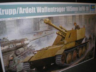 Krupp Ardelt Waffentrager 105 Mm 44 waffentrager krupp 1 weapons carrier tank model kit toys on popscreen
