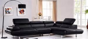 Charmant Tables De Chevet Design #6: Canape-d-angle-en-cuir-noir-hudson.jpg