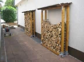 gestell zum holzstapeln brennholzunterstand bauanleitung zum selber bauen