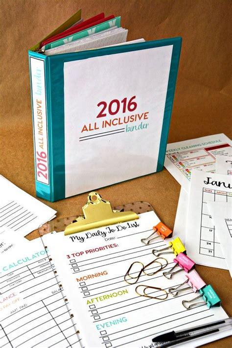 printable binders  easy organization tip junkie