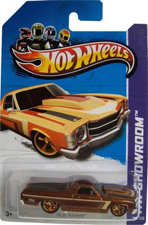 Hotwheels Hotwheel 71 El Camino 71 el camino wheels 2013 treasure hunt