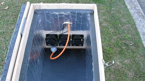 dig   build  soundproof generator shed
