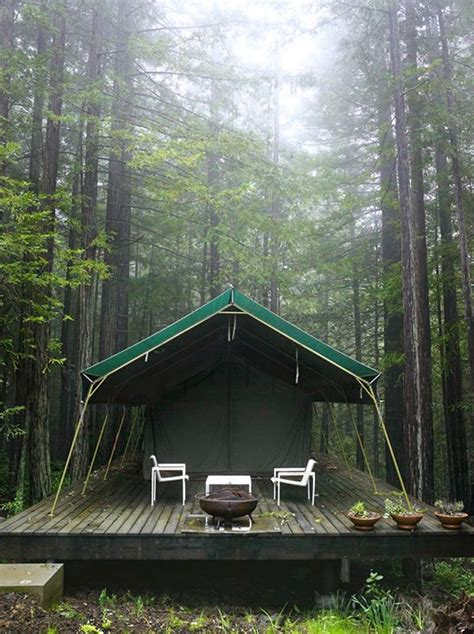 permanent tent cabins photographer mark seelen c pinterest