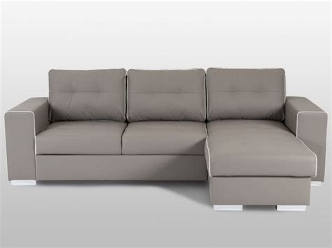 sofa cama tenerife sof 225 cama rinconero piel sint 233 tica topo y blanco tenerife