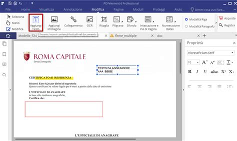 modifica testo pdf come modificare inserire o rimuovere testo pdf pdfeditor it