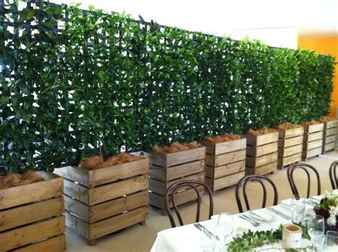 Office Planter Boxes by Office Building Trellis With Vines For Privacy