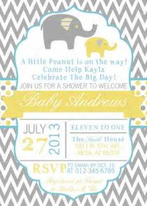 boy baby shower invitation baby boy invitation grey