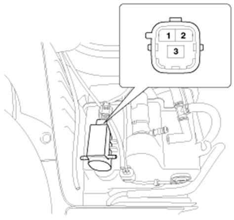 vehicle repair manual 2011 kia sorento windshield wipe control kia sorento front washer motor inspection windshield wiper washer body electrical system