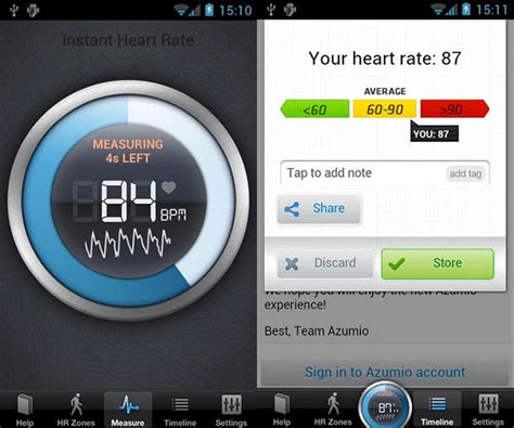 best beat app for android 3 best android apps to measure rate in the smartphone