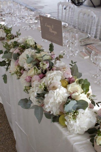 Wedding Table Decor Flowers by Traditional Studios And The Top On