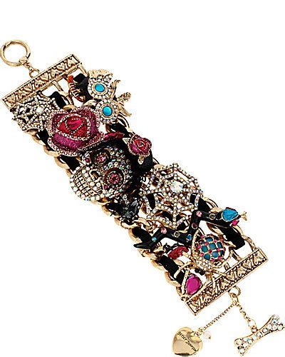 cadenas de oro raras creepshow skull critter bracelet betsey s baubles