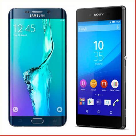 galaxy s6 edge y xperia z3 dos celulares que te dan
