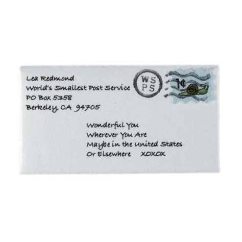 send tiny letters today the world s smallest post service