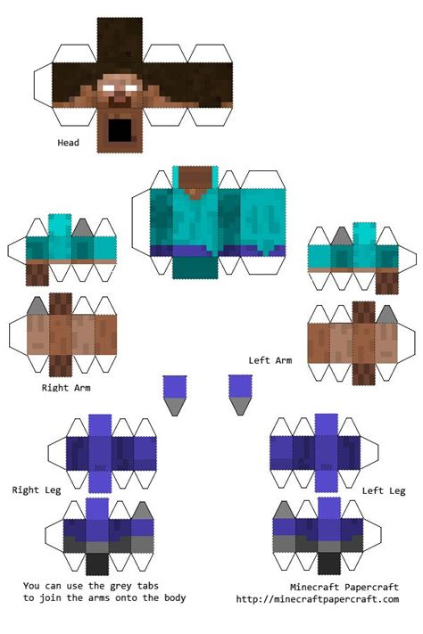 Minecraft Printable Paper Crafts - 17 best images about minecraft on and