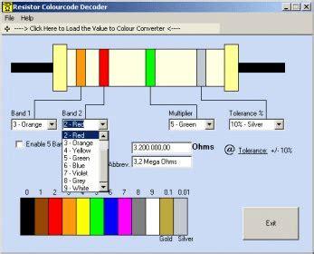 resistor color code java resistor color code java 28 images harmoniku perhitungan resistor 4 warna dan 5 warna