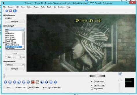 mpeg4 adalah format video cara mengkompres video menggunakan avidemux