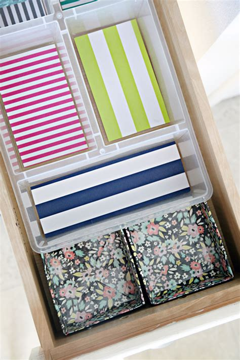 paper drawer organizer diy iheart organizing diy paper box drawer organizers and an