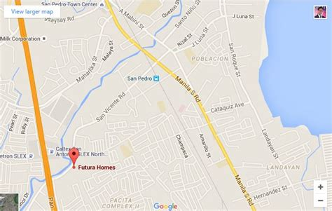 san jose binan laguna map duplex house and lot for sale in san pedro near in