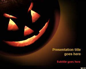 theme powerpoint horror free halloween powerpoint template ppt theme free