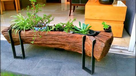 wood  log ideas  creative diy ideas  wood