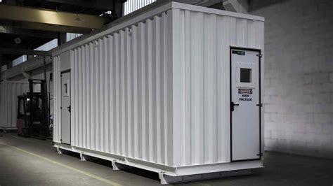 cabine elettriche prefabbricate cabine elettriche prefabbricate per ambiente corrosivo e
