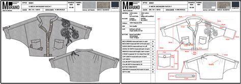 Tech Pack Vs Spec Sheet What S The Difference Create A Fashion Brand Clothing Tech Pack Template