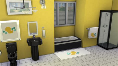 My sims 4 blog rubber ducky bathroom decor recolors by simhead82