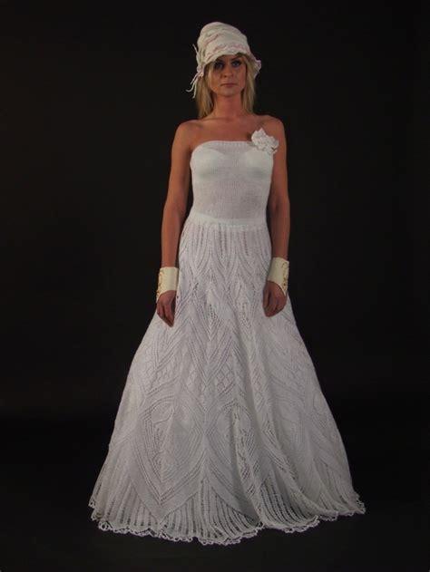 knit wedding dress knitted wedding dress knitted crocheted wedding dresses